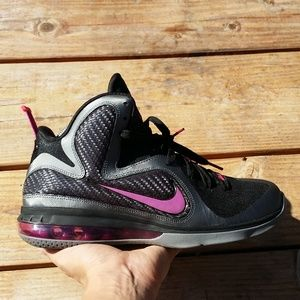 Nike Zoom Air LeBron 9 Miami Night Basketball Shoe